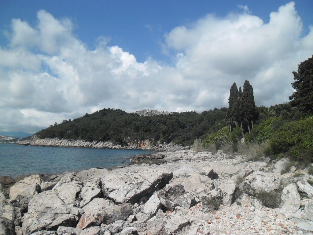 Lokrum Island coast