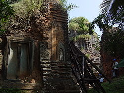 Đền Lolei tại Angkor, Campuchia