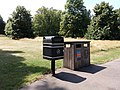 London - Kensington Gardens, waste bins.jpg