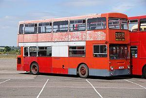London Transport bus DM1051 (GHV 51N), 2010 North Weald bus rally.jpg