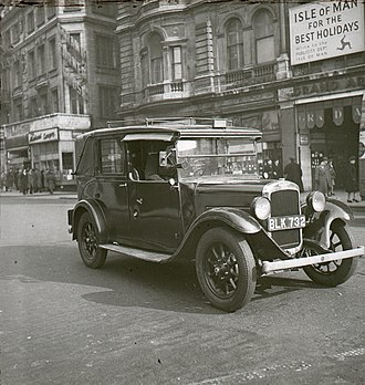 Mann & Overton - Image: London cab