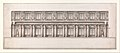 Longitudinal Section of Great Throne Room (Saint George's Hall), Winter Palace, Saint Petersburg MET DP339578.jpg