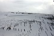 Longyearbyen Plataaberget SvalSat IMG 3058