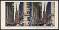 Looking East on Wall Street, Trinity Church in the distance, New York City, from Robert N. Dennis collection of stereoscopic views.png