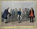 Lord John Russell in fetters, as Filch, dances while Daniel Wellcome V0050223.jpg
