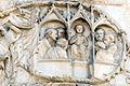 Lorenzo maitani e aiuti, scene bibliche 3 (1320-30) 11 cristo fra i dottori.jpg