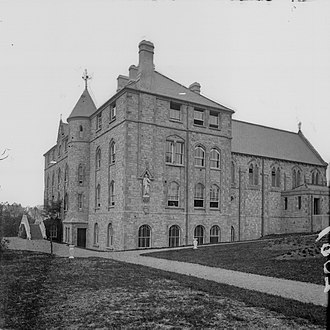 Loreto Convent in Omagh, County Tyrone, Northern Ireland, United Kingdom. Loreto Convent Omagh (17408178892).jpg