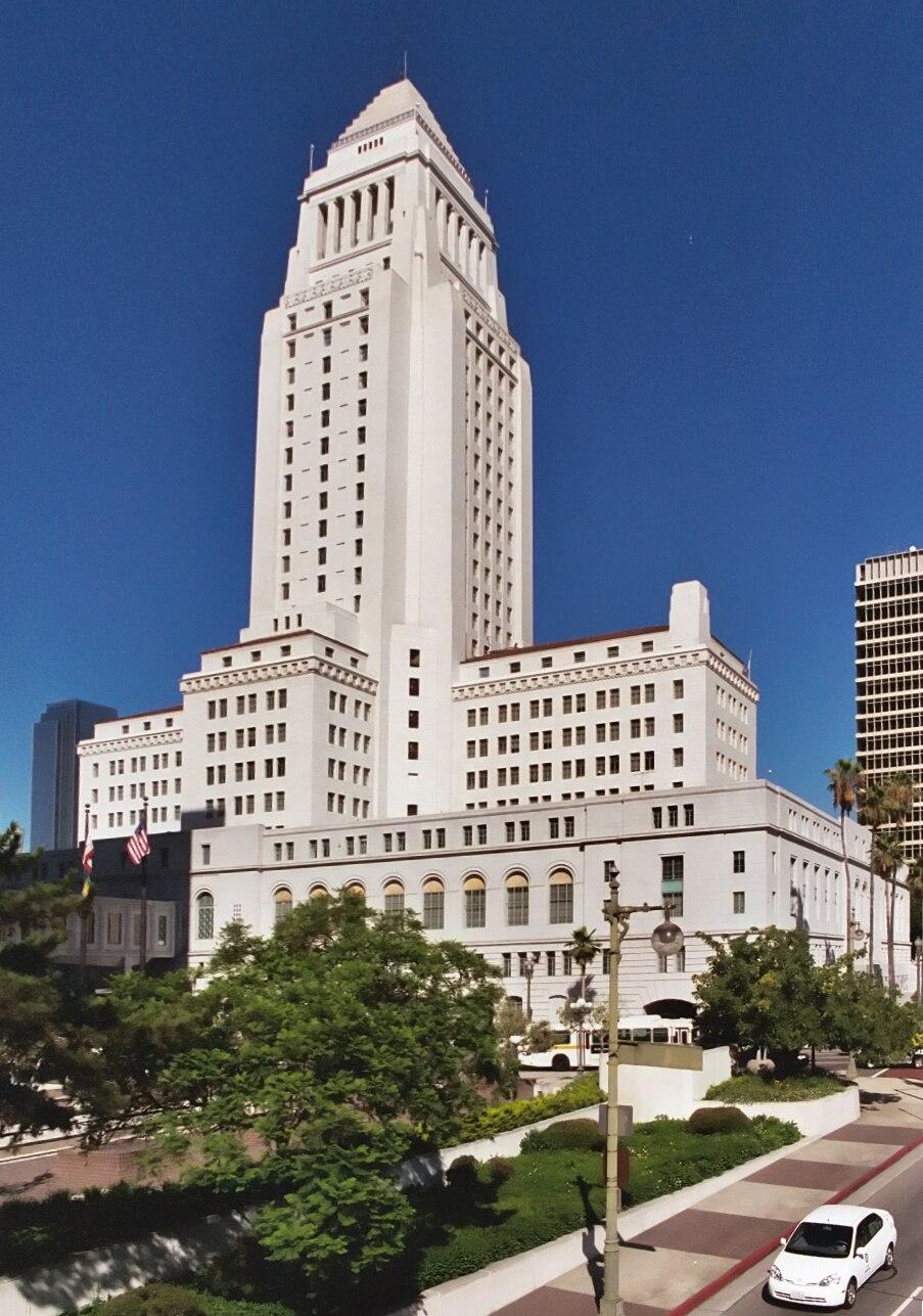 Los Angeles City Hall (color) edit1