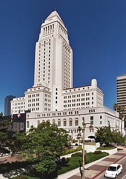 Los Angeles City Hall (color) edit1
