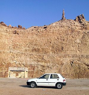 תצורת סלע בירדן הנקראת אשת לוט