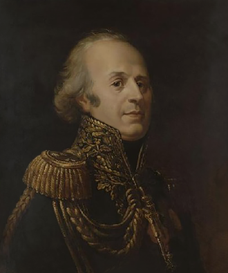 Louis, comte de Narbonne-Lara - Louis Marie Jacques Amalric, comte de Narbonne-Lara. Portrait by Herminie Déhérain