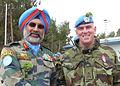 Lt Gen Singha & Lt Col Delaney, UNDOF Syria (13215578795).jpg