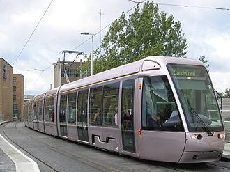 Alstom Citadis - A Citadis 401 in Dublin