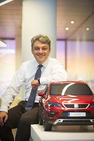 Luca de Meo - Image: Luca de Meo President of SEAT