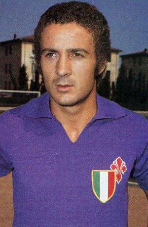 Luciano Chiarugi - Chiarugi at Fiorentina in 1969