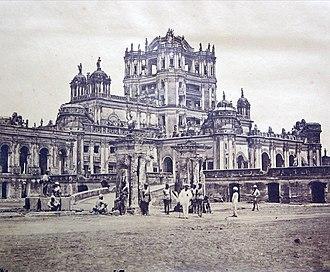 La Martiniere Lucknow - La Martiniere in 1858