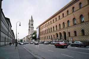 Ludwigstrasse - Ludwigstraße, Munich