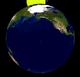 Lunar eclipse from moon-2001Dec30