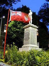 Lunenburg's World War I memorial