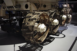 Lunokhod 2 - Detail of Lunokhod's wheels