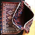 Luristan Soumak saddle bag open.JPG