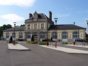 Luxeuil-les-Bains - Image: Luxeuil Gare
