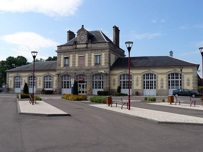 La gare de Luxeuil (Haute-Saône, France)