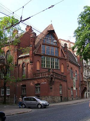 Jan Styka - Jan Styka House in Lwów