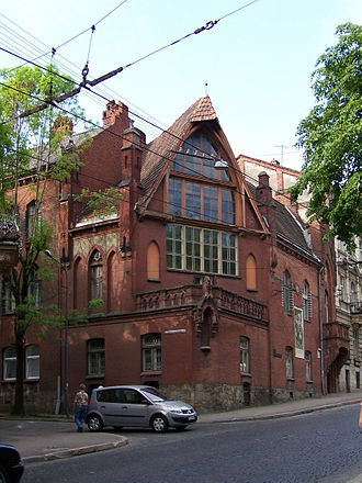 Jan Styka - Jan Styka House in Lwów