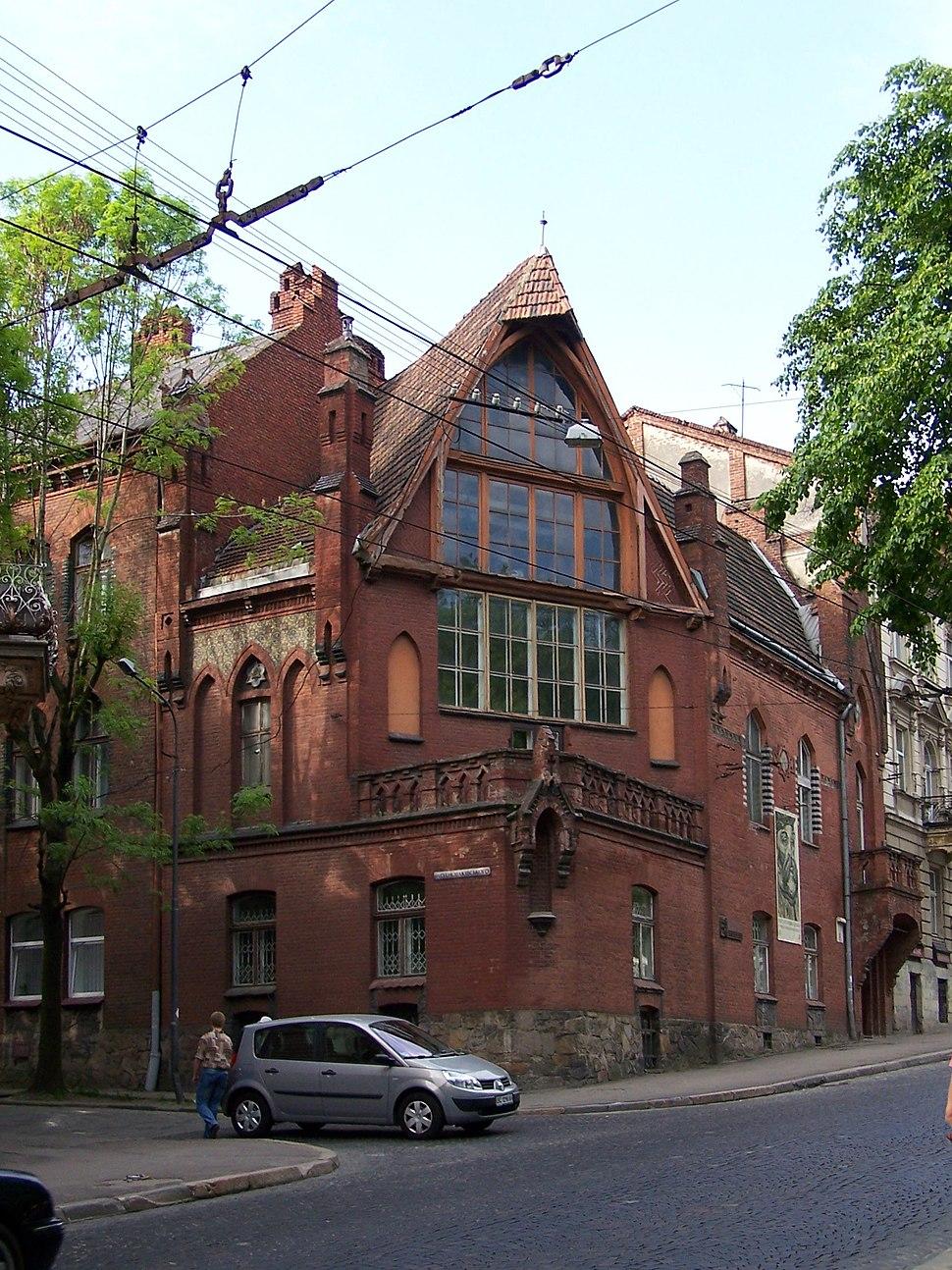 Lviv - Jan Styka House
