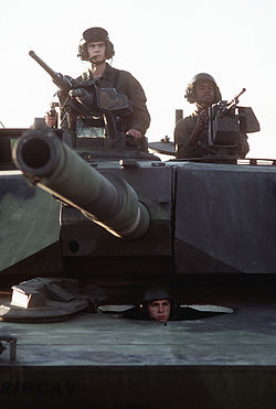 M1 Abrams 1981 Gunner and Coax M240