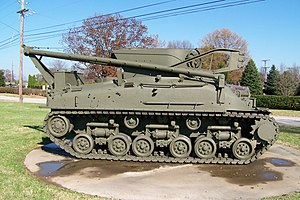M32 Tank Recovery Vehicle - A M32 Tank Recovery Vehicle on display at Fort Knox, Kentucky