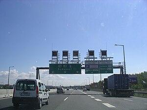 M7 motorway (Hungary) - Image: M7 Near Budapest