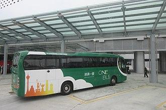 Hong Kong–Zhuhai–Macau Bridge - The OneBus Hong Kong Macau services
