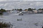 MINISTRO VALAKIVI ENTREGÓ MODERNA FLOTA DE 12 AERONAVES CANADIENSES TWIN OTTER DHC-6 SERIE 400 A LA FUERZA AÉREA DEL PERÚ (19402909780).jpg