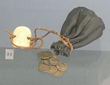 Geldkatze aus dem Mittelalter
