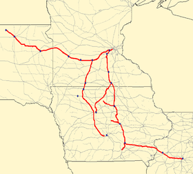 Image illustrative de l'article Minneapolis and St. Louis Railway
