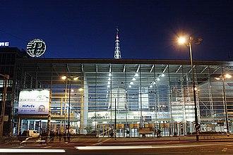 Poznań International Fair - East Hall - main entrance