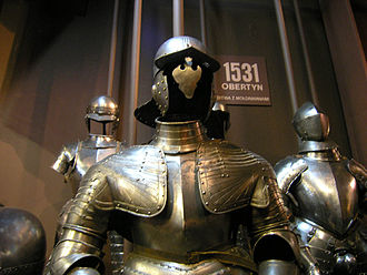 Battle of Obertyn - Polish armoury from the battles of Obertyn