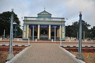 Shrine of Our Lady of Madhu Catholic shrine in Sri Lanka