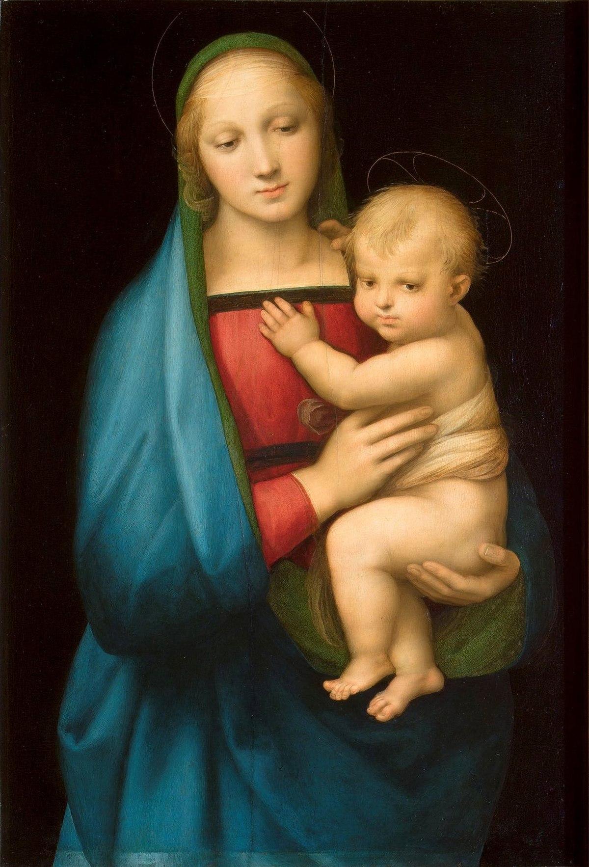 لوحة مادونا ديل غراندوكا لفنان النهضة الإيطالي رافائيل