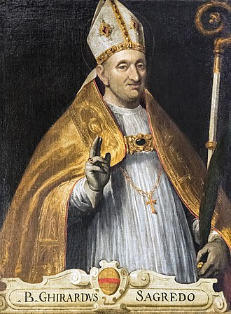 Gerard of Csanád - His portrait in Venice.