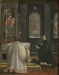 Saint Didacus of Alcalà at Prayers