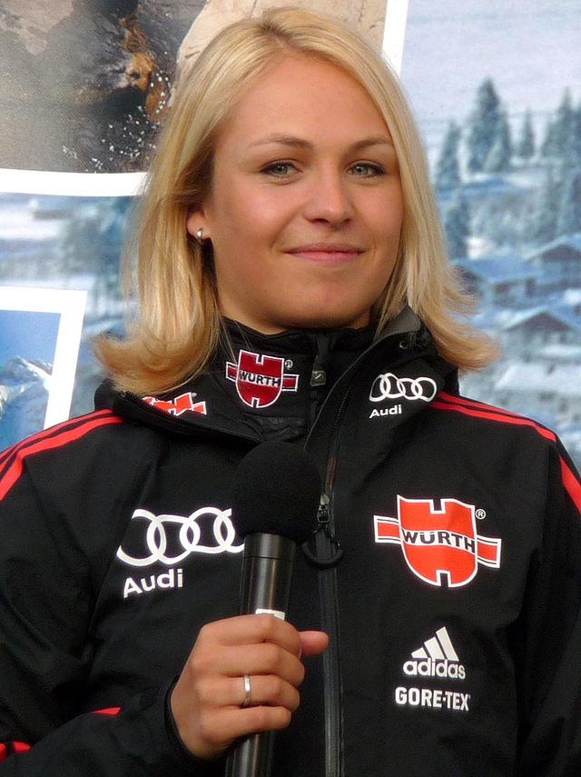 Magdalena Neuner  nackt