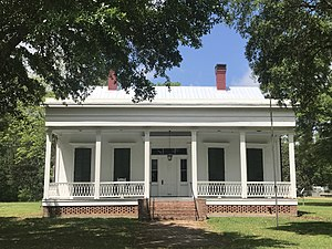 National Register of Historic Places listings in Pike County, Mississippi - Image: Magnolia Manor Osyka