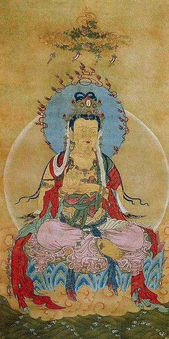 Tangutology - Tangut Buddhist painting from Khara-Khoto