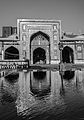 Main Praying Chamber of Wazir Khan Mosque (B&W).jpg