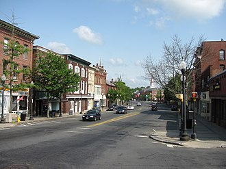 Centre Village Historic District - Main Street