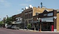Main Street Russell Kansas 8-7-2009.jpg