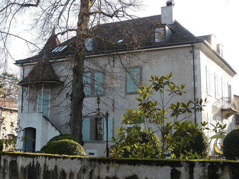 Maison d'Armand Leleux à Dardagny